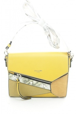 Клатч David Jones 6238-1 Yellow